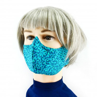 Masque Facial -  Vert à imprimer