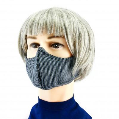Masque Facial -  Motifs noir/blanc
